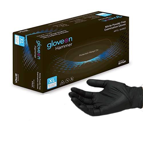 Disposable Nitrile Gloves Black Standard