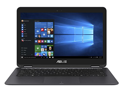 ASUS ZenBook Flip UX360CA-UHM1T 13.3″ 2-in 1 Laptop, Touchscreen, Intel Core m3-7Y30 Processor, 8GB RAM, 256GB Solid State Drive, Windows 10