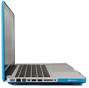 """Blue Slim Rubberized Hard Case Light Weight Matte Cover For Macbook Pro 13 13.3"""""""""""""""""""