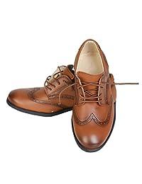 Boys Brand New Patent Formal Brogue Shoes, Boys brown shoes, Boys Tan Shoes, Boys Black Shoes