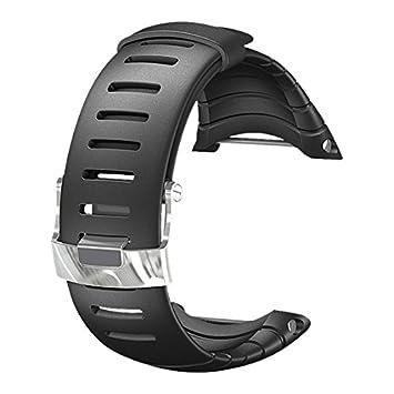 Suunto Core Standard Strap Correa Reloj, Unisex, Negro, Talla Única