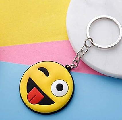 AITU Portachiavi Llavero Lindo Emoji Smiley Taburetes ...