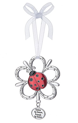 - Ganz Sisters by Chance, Friends by Choice Ladybug Ornament