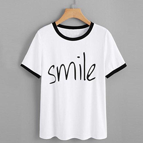 Woman Sport Corta Camiseta Blanca Blanco Camisetas Mujer Familizo Tops Manga Originales Blusa Shirt T Verano Women For Blouse Rn6vqwI