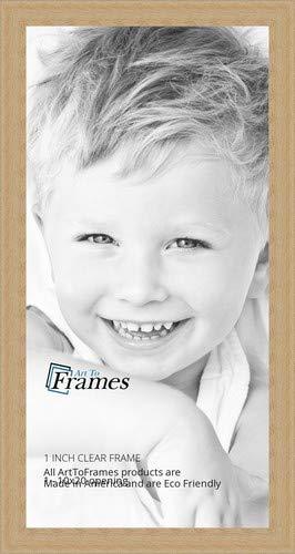 ArtToFrames 社製 写真立て 透明仕上げ  サトウカエデ製フレーム 幅1インチ 12 x 12