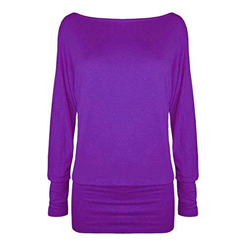 Womens jersey femme souris Baggy Pull en pour chauve Top qqOwr6C