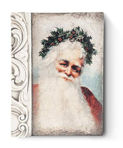 Sid Dickens Memory Block Father Christmas T45 Tile Retired
