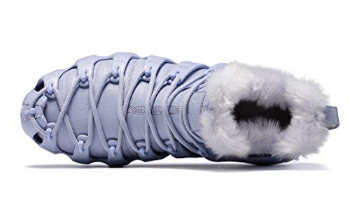 Grey ONEMIX Unisex White Stivali Adulti da Neve RqqUXTvr