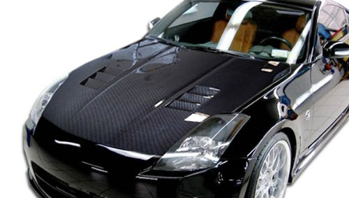 Carbon Creations ED-NMC-711 JGTC Hood - 1 Piece Body Kit - Compatible For Nissan 350Z 2003-2006