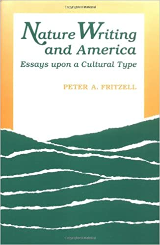 com nature writing and america essays upon a cultural  com nature writing and america essays upon a cultural type 9780813801179 peter a fritzell books