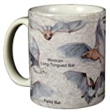 WILD COTTON Bats of North America 11 Ounce Ceramic Coffee Mug