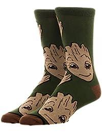 Guardians of the Galaxy Groot Crew Socks