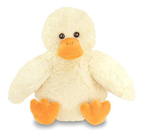 Bearington Big Bill Plush Yellow Duck Stuffed Animal, 10 inches