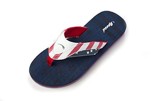 dc35e765a8ff Bare Fart Menn Flip-flops Sandaler Skli På Usa Flagg 4 Juli Spangled  Stjerners Patriot
