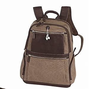 Bellino Autumn Computer Backpack (Scan Express) (Brown)