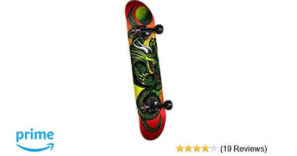 Amazon.com   Powell Golden Dragon Knight Dragon 2 Complete Skateboard    Sports   Outdoors 5ab9ebce57b