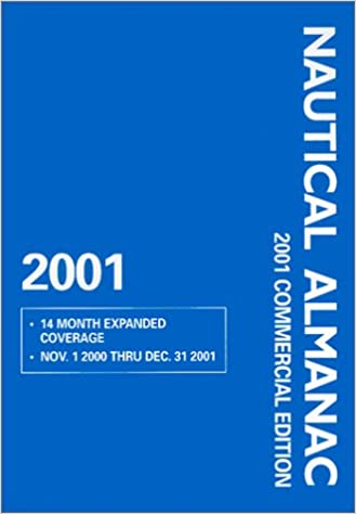 Book 2001 Nautical Almanac - Commercial Edition