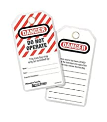 Master Lock Lockout Tagout Tags, Do Not ...