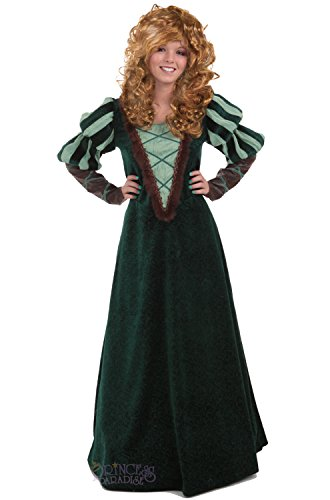 Women's Courageous Princess Costume (Brave Adult Costume)