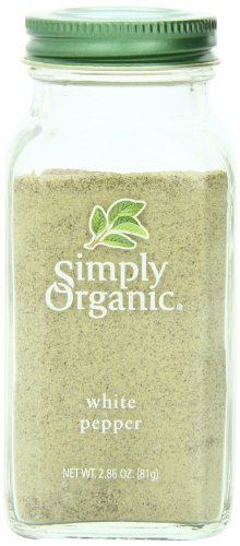 Simply Organic Pepper, White, 2.86 (Organic Roasted Peppers)