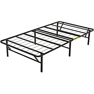 AmazonBasics Foldable Metal Platform Bed Frame for Under-Bed Storage - Tools-free Assembly 9