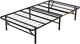 AmazonBasics Foldable Metal Platform Bed Frame for Under-Bed Storage - Tools-free Assembly, No Box Spring Needed - Twin (B073WR319C) | Amazon Products