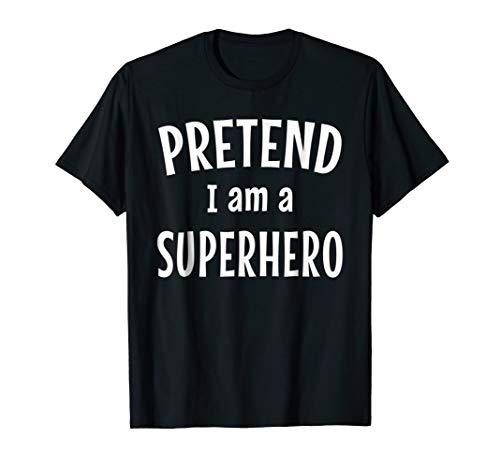 Funny Superhero Costume Shirt Easy Idea for Halloween for $<!--$12.89-->