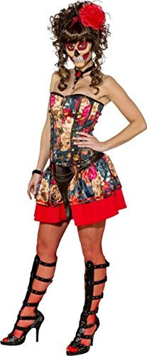 Sexy Me Kleid Horror Korsett Kostüm der Halloween Party Outfit Fancy Tag Damen Rock Toten d7Rwd1Exq