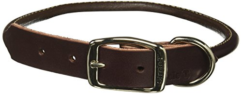 Circle T Leather Coastal Pet Products Round Dog Collar, 1