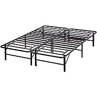 BestMassage 14 Inch Mattress Foundation Platform Bed Frame Maximum Under-bed Storage,Full Size
