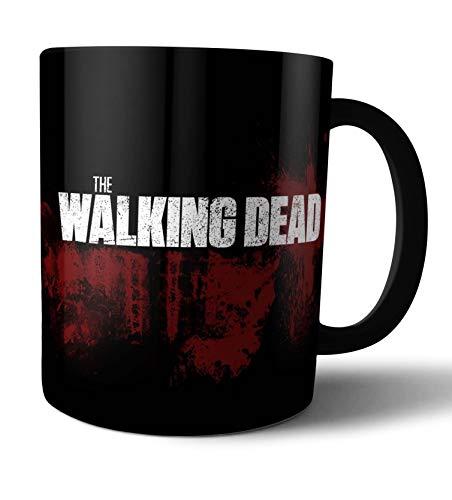 Caneca de porcelana The Walking Dead - Live Comics - Preto