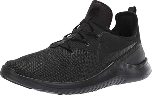 Nike Men's Free TR 8 Training Sneakers (9.5, Black/Black)