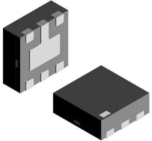 ESD Suppressors 5.0 Volt 45 Watt for 4-Line USB Ports 100 pieces
