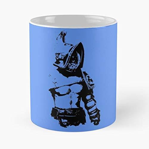 Gladiator War Warrior Sword Funny Floral Coffee Mugs Gifts ()