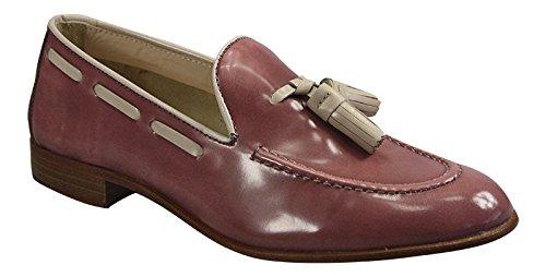 Pertini - Mocasines para mujer rojo rosa 38: Amazon.es: Zapatos y complementos