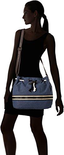 Fre03 tz Bleu blue femme Blue Sacs bandouliere Les Tropeziennes qEztwcWP