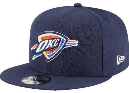 NBA Oklahoma City Thunder Adult Men NBA 9Fifty Team Color Basic Snapback - Thunder Okc Snapbacks