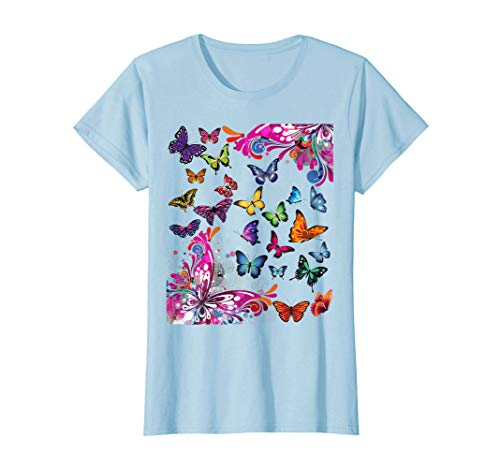 Butterfly Paradise Butterflies Tshirt for Girls and -