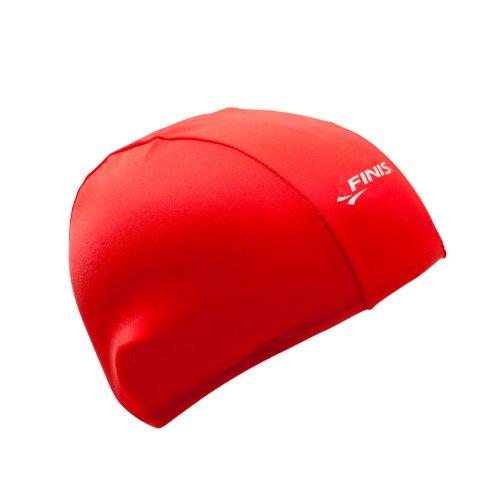 spandex-swim-cap-red