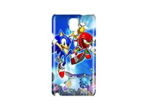 Sonic the Hedgehog Game Snap on Plastic Case Cover Compatible with Samsung Galaxy Note 4 wangjiang maoyi