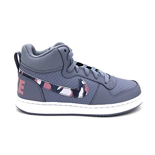 ashen gs Bambino Multicolore elemental Scarpe Nike 401 Court Borough multi Basket Pink Slate Mid Da color 0qn1zptw
