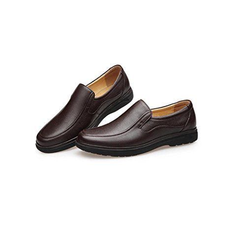 Oxford Pelle Affari Scarpe Oxford in Casuale Maschile Traspirante Brown Antiscivolo rqntZr