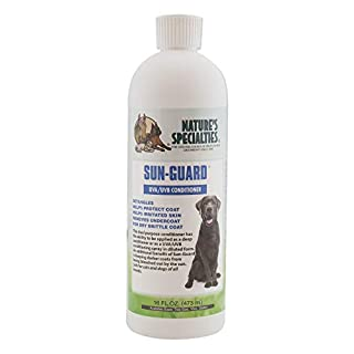 Nature's Specialties Sun-Guard Conditioner for Dogs Cats, Non-Toxic Biodegradeable, 16oz