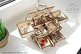 Antique Box Ugears, 3D Mechanical Treasure