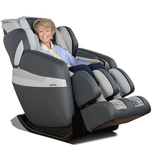 RELAXONCHAIR [MK-CLASSIC] Full Body Zero Gravity Shiatsu Massage Chair with Built-In Heat and Air Massage System - Shiatsu Anti Gravity Recliner