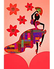 Flamenco Dance Journal: Lined Notebook, Diary, Planner to write in, 132 Pages, 6x9, College Ruled, female Spanish dancer, Soft Cover
