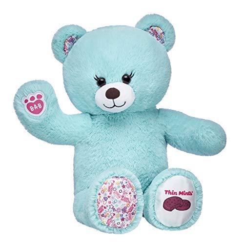 Build A Bear Workshop Girl Scout Thin Mints Cookie Teddy Bear, 16 inches Build A Bear Teddy
