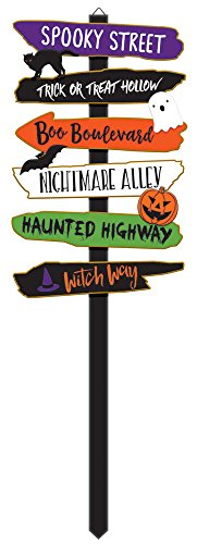 Amscan 190677 Giant Halloween Directional Yd. Stake,