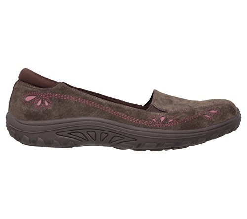 Daisy Reggae Chocolate Loafer Fit Relaxed Skechers Fest Skechers Womens Relaxed Womens x8BBRq