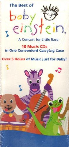Best of Baby Einstein Music Cd 10-pack